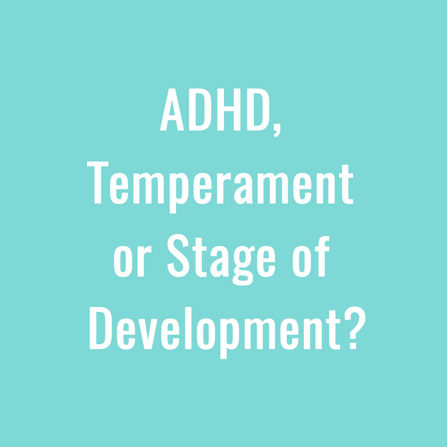 adhd temperament